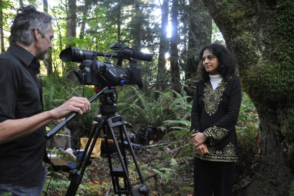 Nalini in video production_TreeStory