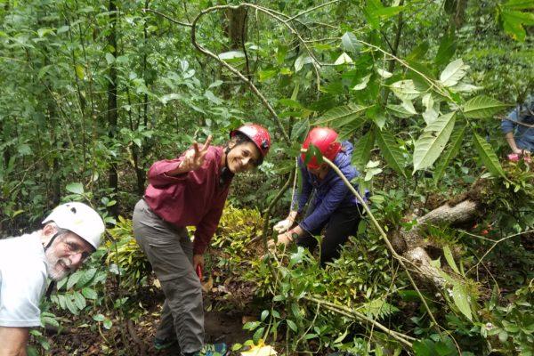 nalini in Monteverde fieldsite