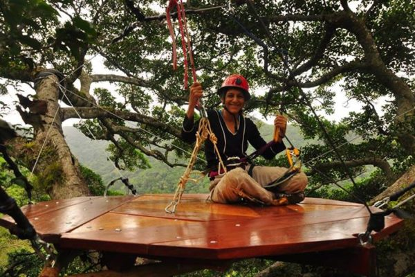 nalini in tree platform